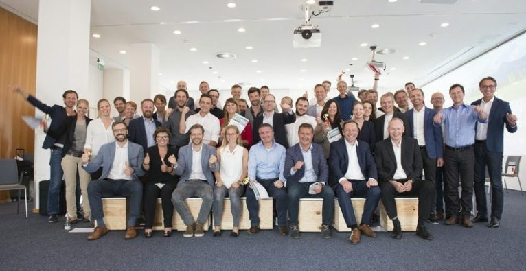 Die Sieger der Salzburg AG Innovation Challenge 2018