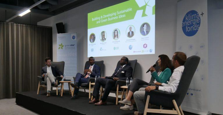 """greenstart-Auftakt: """"Veränderung wird es ohne Unternehmen nicht geben"""""""