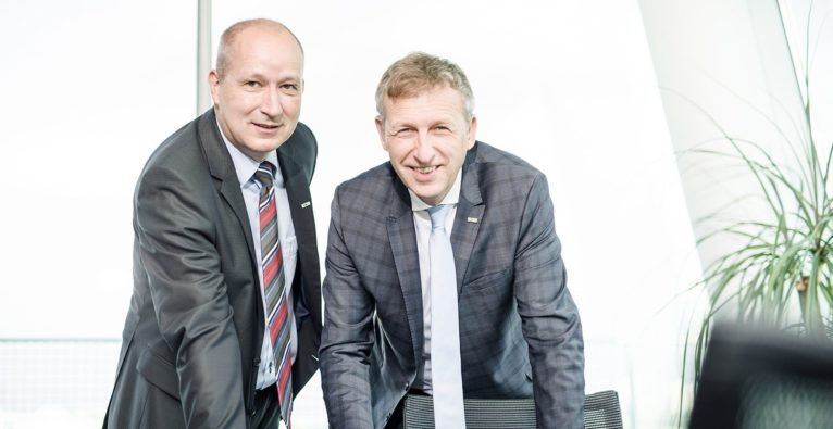 ITSV GmbH: Die beiden Geschäftsführer Erwin Fleischhacker und Hubert Wackerle