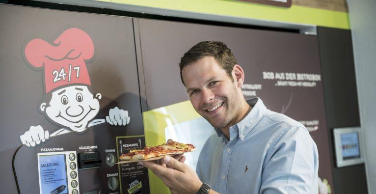 Morgen eröffnet die erste BistroBox mit 24/7-Pizza im Burgenland.