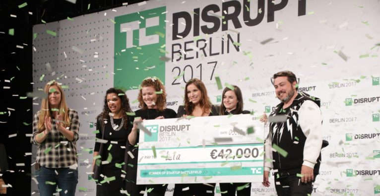 (c) TechCrunch Disrupt: Lia Diagnostics, Gewinner des Startup Battlefield 2017