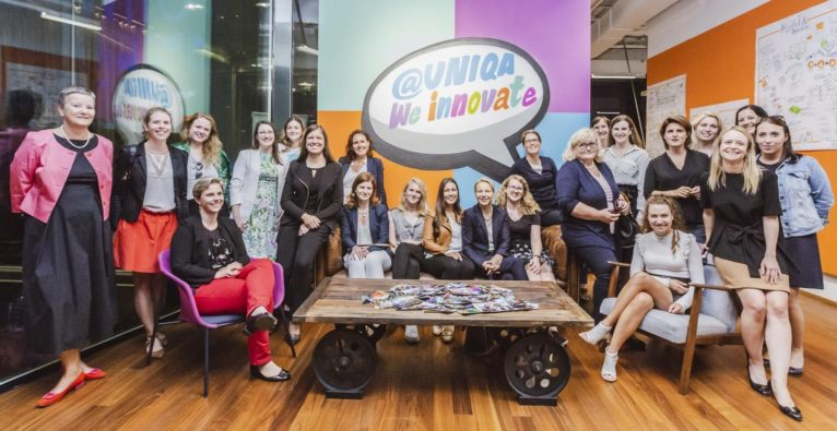 Fintech Ladies im Uniqa Innovation Lab im weXelerate