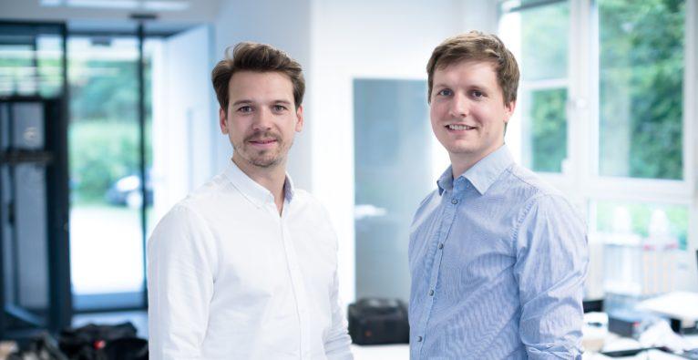 Twaice. Die Co-Founder Stefan Rohr und Michael Baumann.