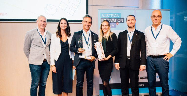 Greenbird setzt sich bei ICEBERG Innovation Leadership Award 2018 gegen Viewpointsystem und Hydrogrid durch