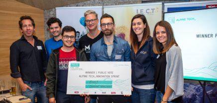Alpine Tech Innovation Sprint: Wie aus Touristen Emojis werden
