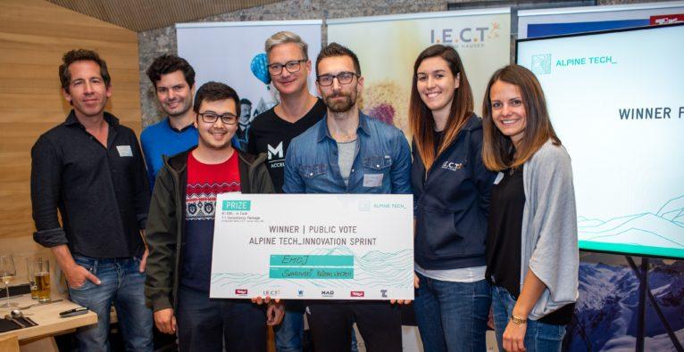 © Destination Wattens | Internationale Startups arbeitete 24 Stunden lang an touristischen Problemen. Der Gewinner: EMOJ.