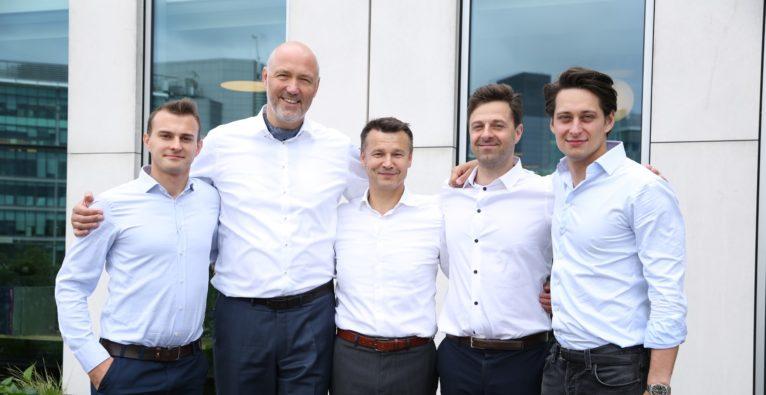 Corviglia (vlnr.): Paweł Karczewski, Petr Šmída, Cezary Smorszczewski, Marcin Goszyk and Piotr Pisarz