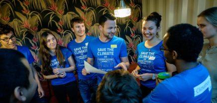 Climathon: 24 Stunden für den Klimaschutz in Graz und Wien am Freitag
