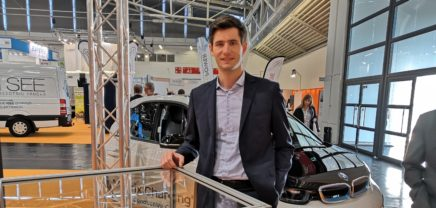Grazer Startup Easelink reüssiert mit adaptiertem BMW auf Mobility-Leitmesse