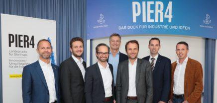 Pier 4: Fünf weitere Großunternehmen auf Startup-Suche
