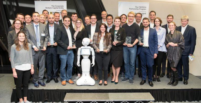 RBI Elevator Lab, CityFALCON, SESAMm, Investing & TradingTech (FINABRO aus Österreich und limitless aus den Niederlanden), New Branch Experience, PayKey, Pisano, Open Banking, RegTech