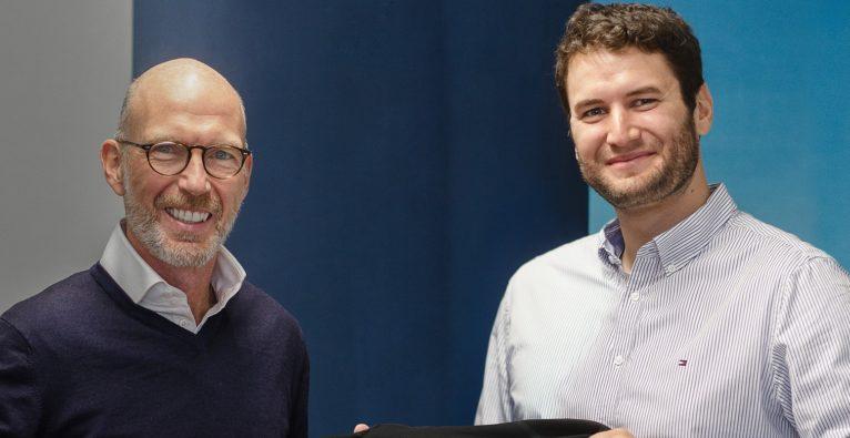 Anyline: Alexander Loidolt mit Anyline CMO und Co-Founder Jakob Hofer