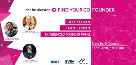 Find Your Co-Founder – Wo Talente zusammen finden