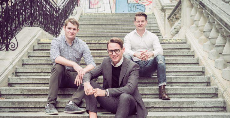 MOOCI: Das Gründer-Team (vlnr.) Matthias Meleschnig, Janis Jung und Matthias Cerha