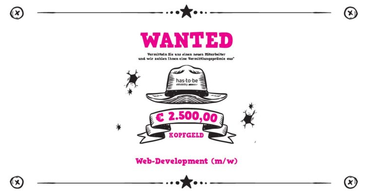 has.to.be is looking for a Web Developer