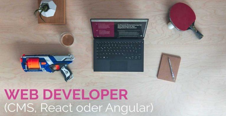 Web & Söhne suchen einen Web Developer