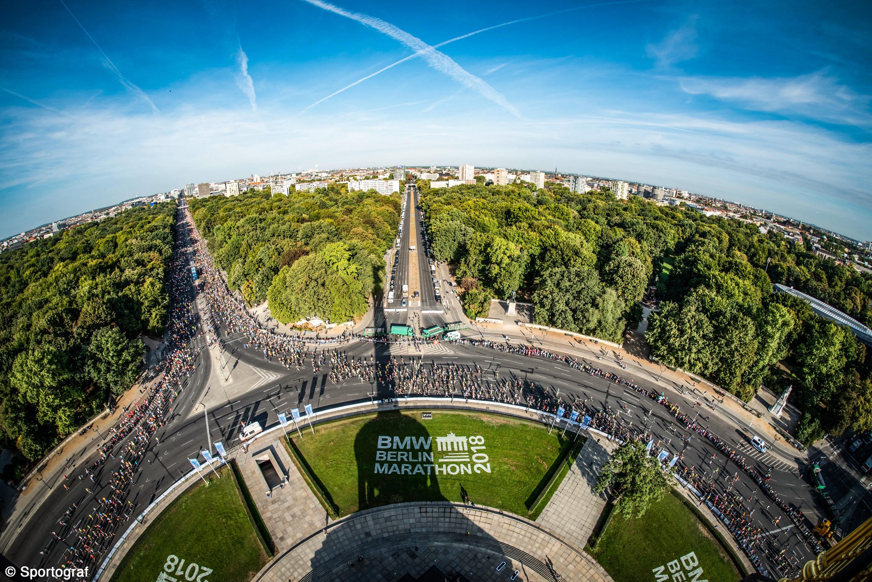 Pixelrunner-Einsatz beim Berlin-Marathon