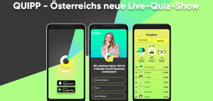 Quipp: neue Live-Quiz-App von ProSiebenSat.1 PULS 4