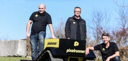 """Pixelrunner: Investment für OÖ-Startup mit """"Landschaftsdrucker"""""""