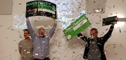 Startup Live Pitch Competition St. Pölten: VR Tennis Trainer ist Gesamtsieger