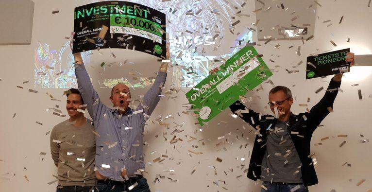 Der Gesamtsieg bei Startup Live St. Pölten ging an den VR Tennis Trainer.