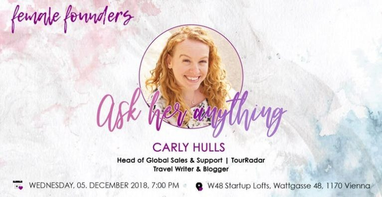 Female Founder Meetup: Carly Hulls
