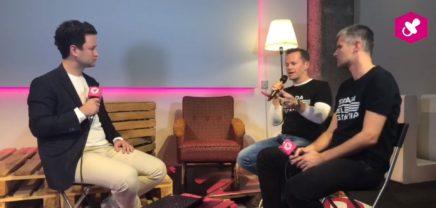 Michael Eisler und Bernhard Lehner von Startup300 im brutkasten Talk