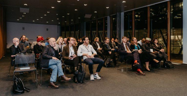 Bei der Präsentation des Angel Investing Report 2018 bei der aaia Investors Lounge