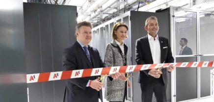 A1 eröffnet 40 Millionen Euro teures Rechenzentrum