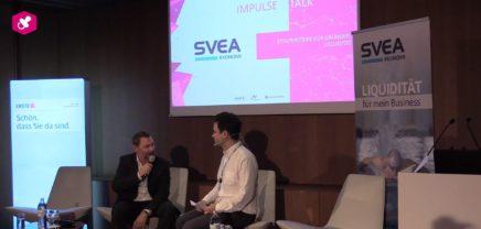 FYCF18: Impulse Talk mit Andreas Draxler von SVEA
