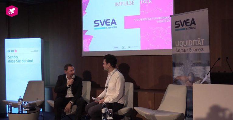 Impulse Talk von Andreas Draxler beim Find Your Co-Founder 2018