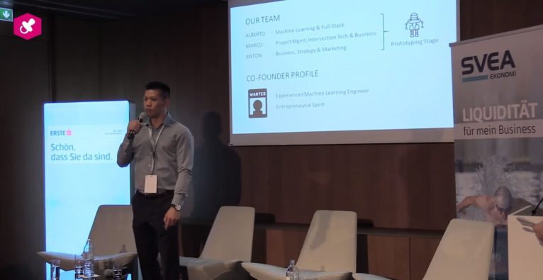 Die Job Pitches Session am Find Your Co-Founder 2018