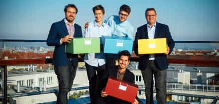 Moritz Lechner (Freebiebox) startet Crowdfunding und Europa-Expansion