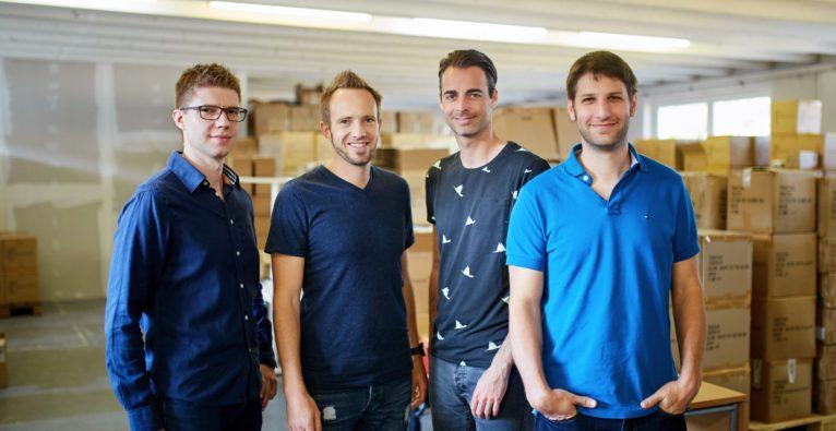 Tractive - das Management-Team (vlnr.): Michael Tschernuth, Wolfgang Reisinger, Michael Hurnaus und Michael Lettner
