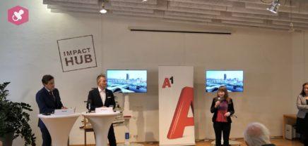 A1 bringt ultraschnelles Internet in das Impact Hub Vienna