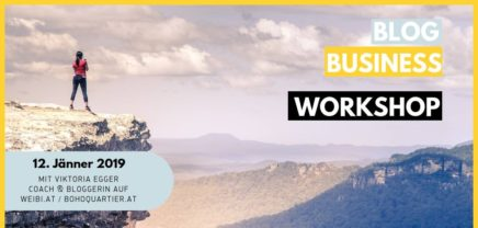 Blog Business Workshop – Geld verdienen mit Blog & Social Media