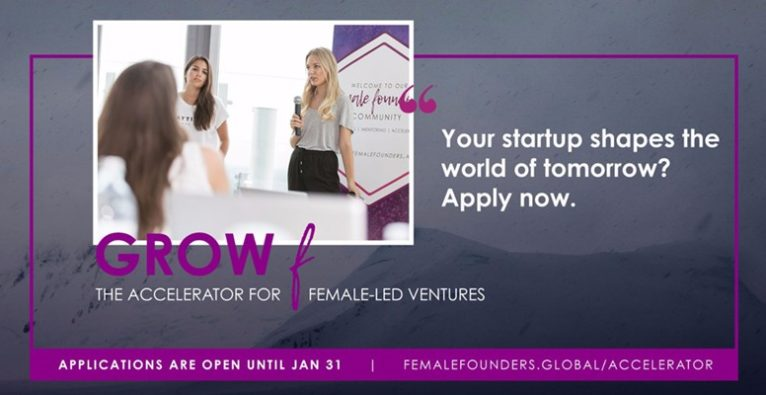 Female Founders - Grow F