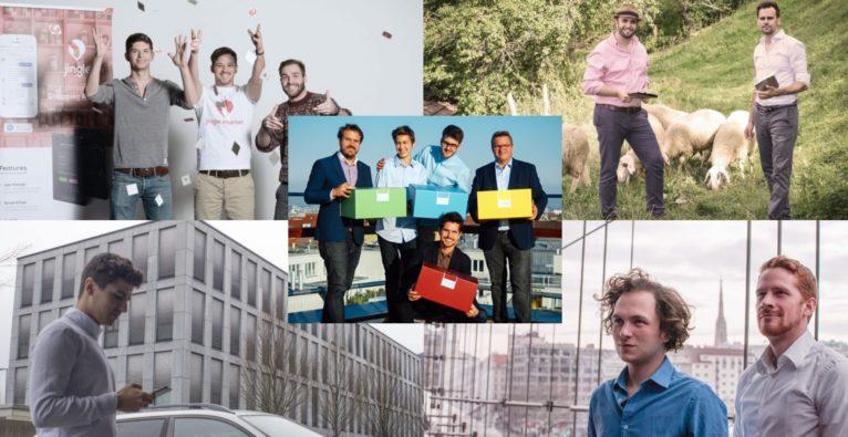 Diese fünf Newcomer-Startups 2018 haben unsere LeserInnen auf Social Media am meisten beeindruckt.