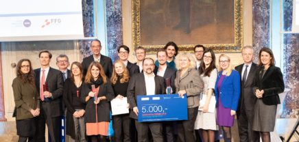 Phönix 2018: herausragende Startups mit österreichischem Gründerpreis prämiert