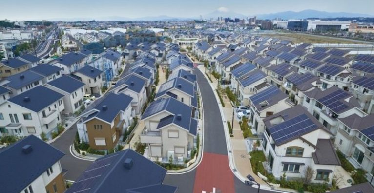 Smartes Wohnen, Panasonic, Fujisawa, Smart Town