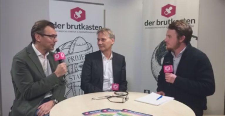 Dominik Perlaki spricht mit Gründer Thomas Binder und CEO Klaus Müller von 123sonography