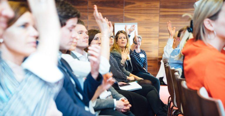 Austausch unter Profis beim Future of Marketing 2019