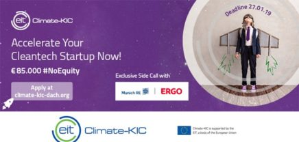 CALL: Climate-KIC Accelerator // Fast-Track Your Cleantech Business