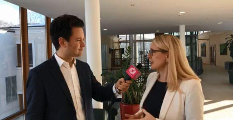 Margarete Schramböck im Interview mit Dejan Jovicevic - Neues Startup-Paket
