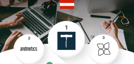 Social Media Ranking österreichischer Startups Dezember 2018