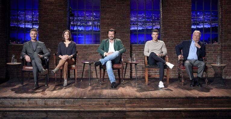 """""""2 Minuten 2 Millionen"""", Leo Hillinger, Katharina Schneider, Martin Rohla, Florian Gschwandtner, Hans Peter Haselsteiner, Startup, Invest"""