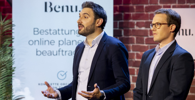Benu, Tod, Startup, 2 Minuten 2 Millionen, Investor, Florian Gschwandtner, Bestattung