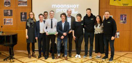 Erstes Moonshot Pirates Bootcamp bringt neun Startups hervor