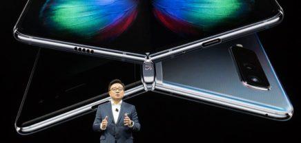 Galaxy Fold: Samsung stellt faltbares Smartphone für 2000 Euro vor