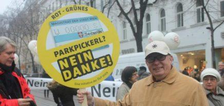 """Parkpickerl-Gegner will Wiener Parkraum mit """"GSM-Funk"""" digitalisieren"""
